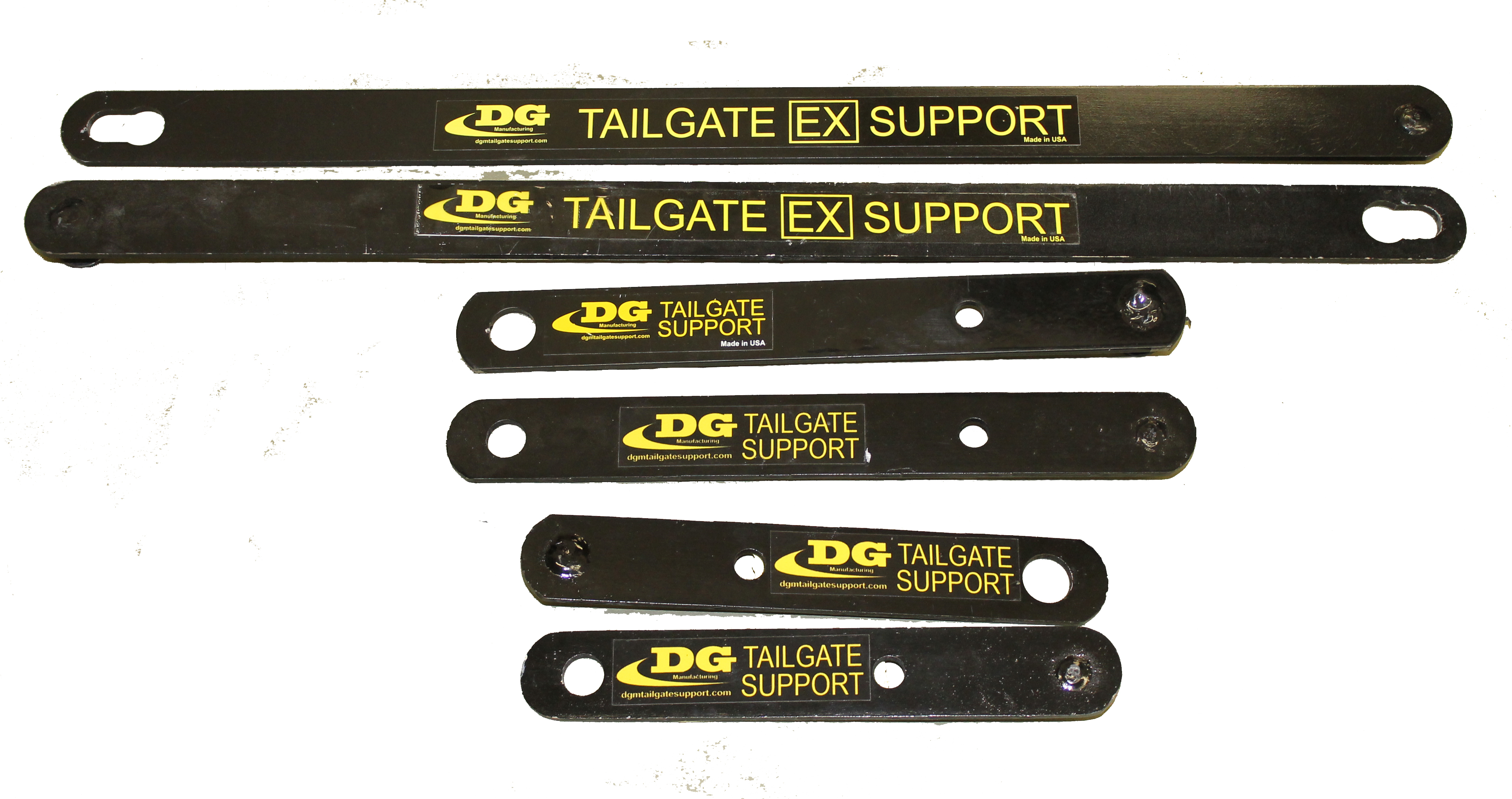 Tailgate Support All 3 Sizes Dg Manufacturing Tailgate