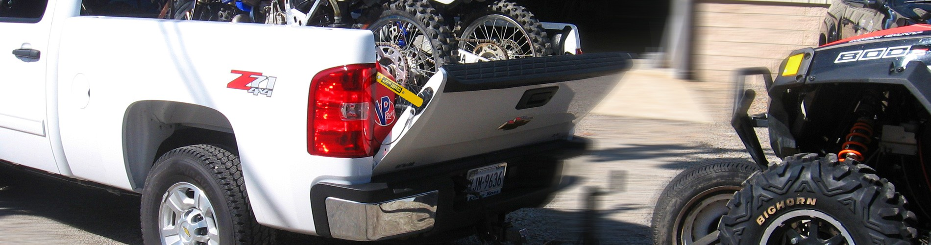 DG Manufacturing. Tailgate Support Bars
